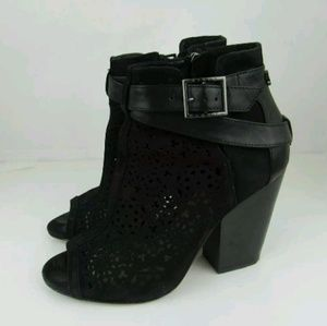 Vince Camuto Shoes Size 6 Booties Black Suede